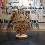 Statuetka inspirowana logo klubu piłkarskiego  -