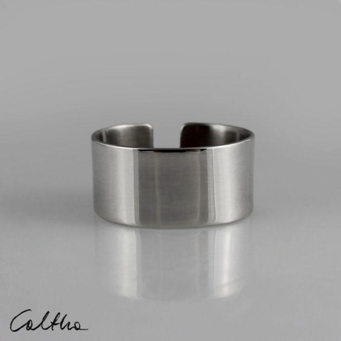 Gładki - srebrny pierścionek 190608-03