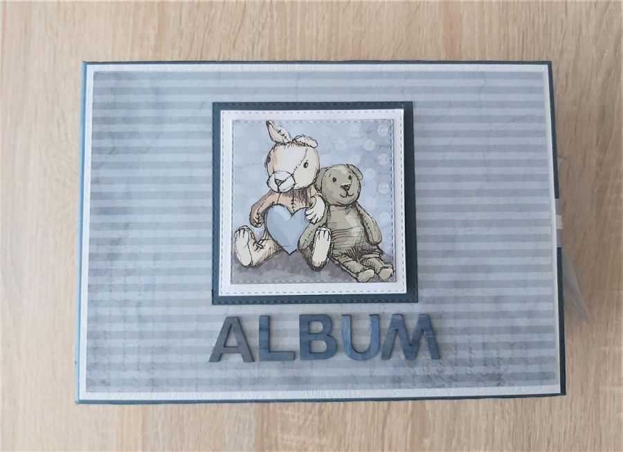 Album dla chłopczyka Miś
