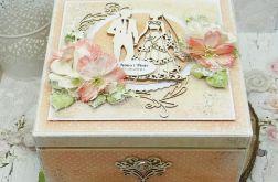 Pudełko ślubne - niezbędnik małżeński NM5
