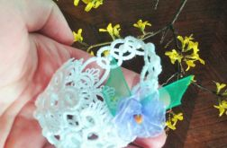 Miniaturka Koszyczek z perełkami