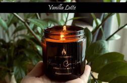 Vanilla Latte - naturalna świeca sojowa 120ml