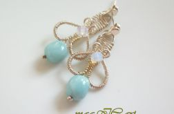 Amazonit wire wrapping