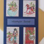 Kartka świąteczna Wesołych Świąt