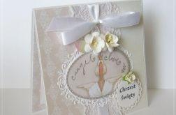Kartka w pudełku na Chrzest Święty