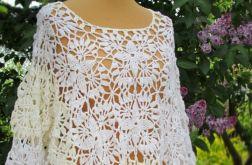 Sweterek Boho biały