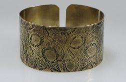 Pętelki - mosiężna bransoleta 190111-04