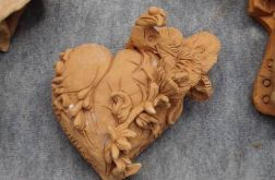 Serce z ptakiem