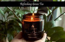 Zielona Herbata - świeca sojowa 120ml