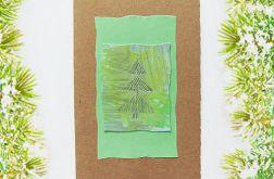 Kartka  świąteczna minimalizm 50