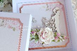 Ślubna kartka w pudełku 306