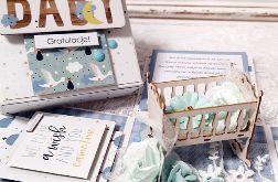 Na narodziny - pudełko exploding box dla chłopca
