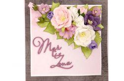 Kartka na ślub - #667