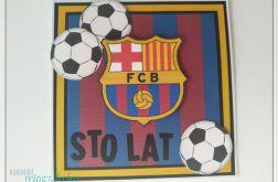 Kartka dla fana FC BARCELONA - 2