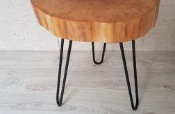 Stolik drewniany, kawowy - olcha
