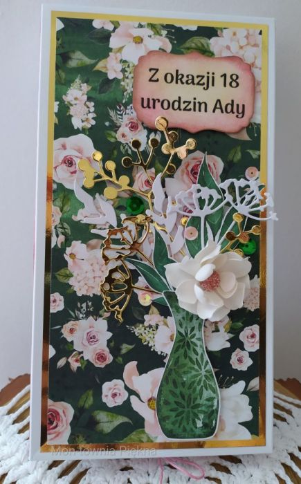 Kartka urodzinowa Lady