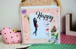 Kartka - Happy! ( 2 )
