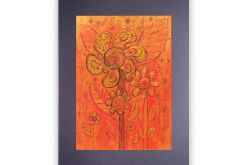 Kwiaty 5 - rysunek dekoracyjny