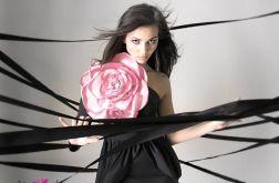 Broszka Gigant :: pudrowy róż