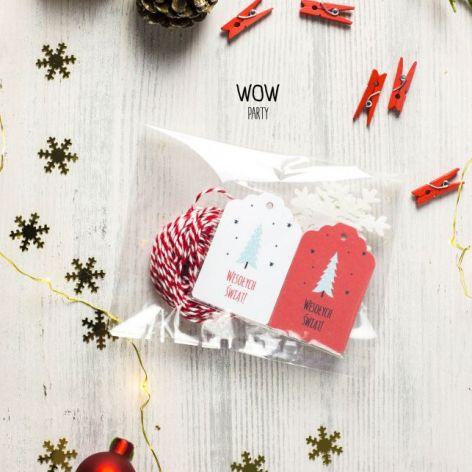 Oryginalny zestaw do pakowania prezentów 9