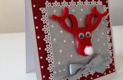 Kartka świąteczna RENIFER