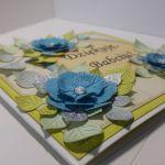 Kartka dla babci - niebieska (2)
