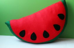 Duży kawałek arbuza, poduszka dekoracja