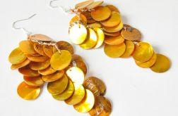 Muszelkowe kolczyki 3582