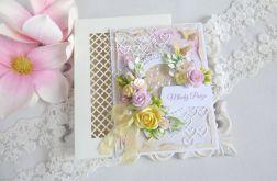 Ślubna kartka w pudełku 205