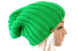 zielona czapka unisex