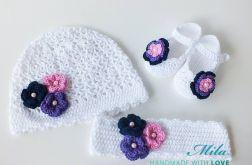 Komplet niemowlęcy Flowers III