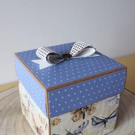 Pudełko niespodzianka - Butterfly