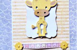 ZAPROSZENIE na urodziny z żyrafą