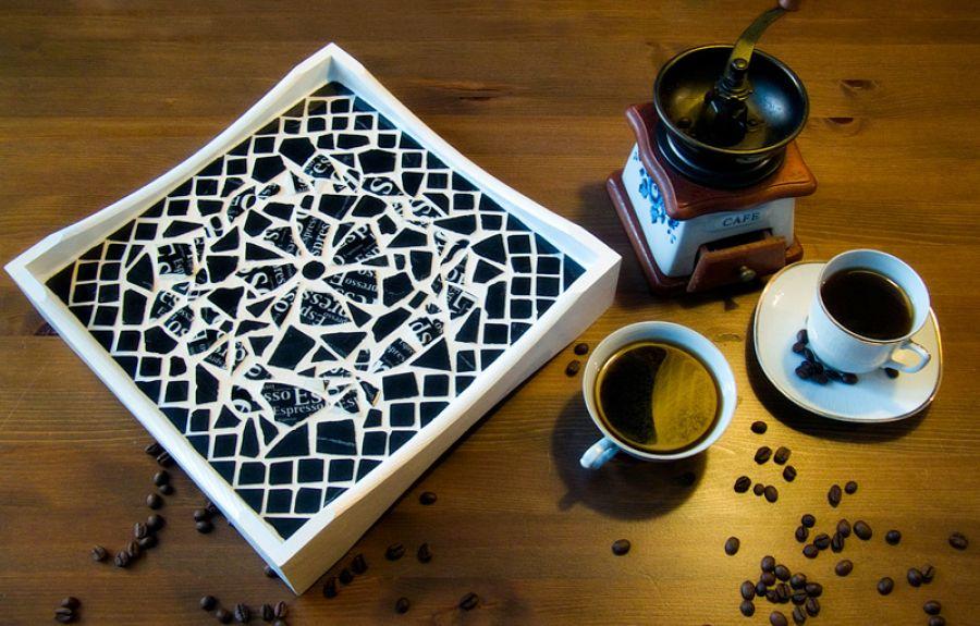 Dwulicowa Taca Espresso