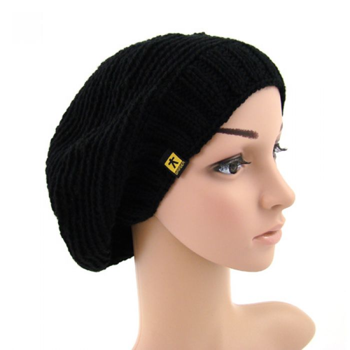 beret/czapka czarna