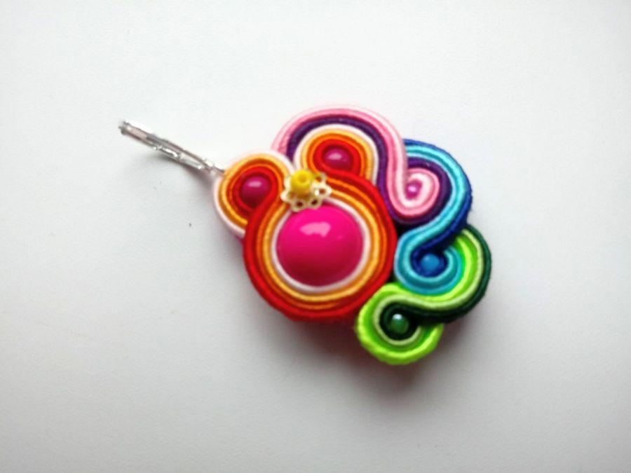 Kolczyki sutasz Rainbow - Możesz zamówić dowolne kolory