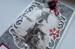 Kartka Boże Narodzenie Vintage