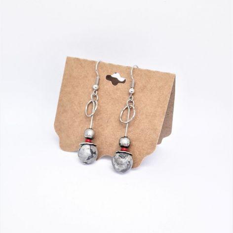 Kolczyki z serii StaLove - kamienie 2