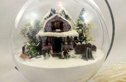 dekoracja świąteczna bombka przestrzenna