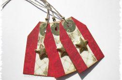 Karneciki - bileciki do prezentów (3szt.)