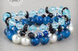 Czarno niebieska perła
