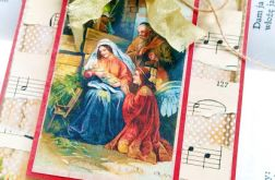 Kartka ze stajenką na święta