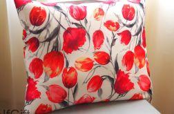 DUŻA poduszka w tulipany2