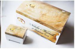 Kuferek na koperty szkatułka ślub i wesele