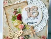 Kartka z okazji 18 Urodzin