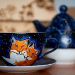 Zestaw do herbaty - Tea for One Galaktyczne Lisy - Zestaw do herbaty