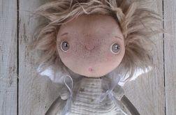 ANIOŁEK lalka tekstylna (OOAK), ugly _angel