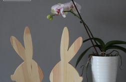 Zajączek z drewna