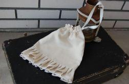 Romantyczny vintagowy woreczek