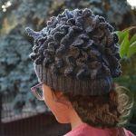 Szara sowa -madra głowa ! czapka